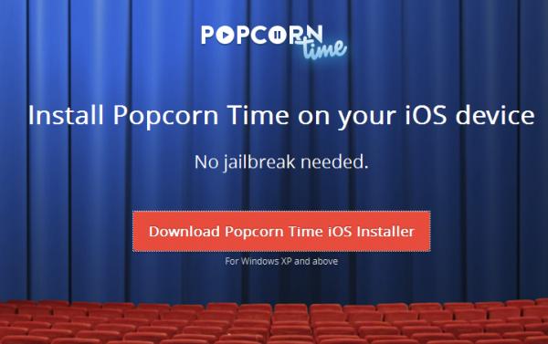 popcorn time ios installer 2