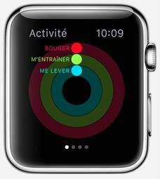 smartwatch appli activite1