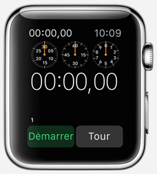 Application Chronomètre