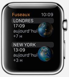 Application Horloge