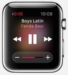 smartwatch appli musique1