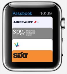 smartwatch appli passbook1