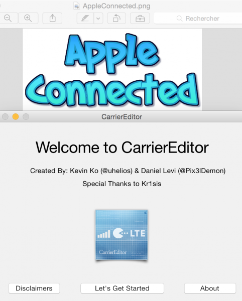tuto change logo appleconnected 6