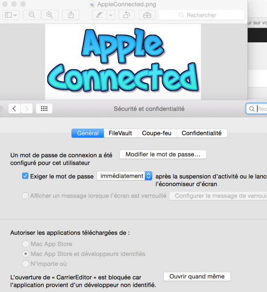 tuto change logo appleconnected 8
