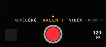video ralenti iphone im1b