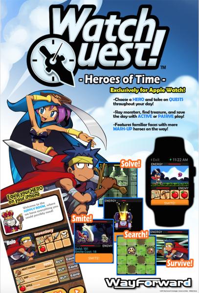 watch quest Apple Watch 1