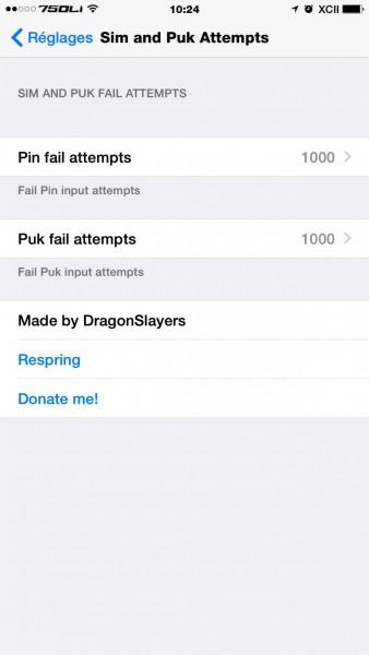Sim&Puk attempt appleconnected