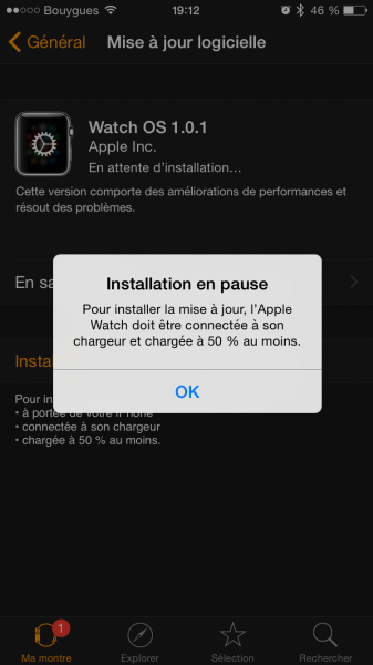 Watch OS update 5