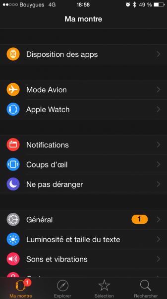 Watch OS update 6
