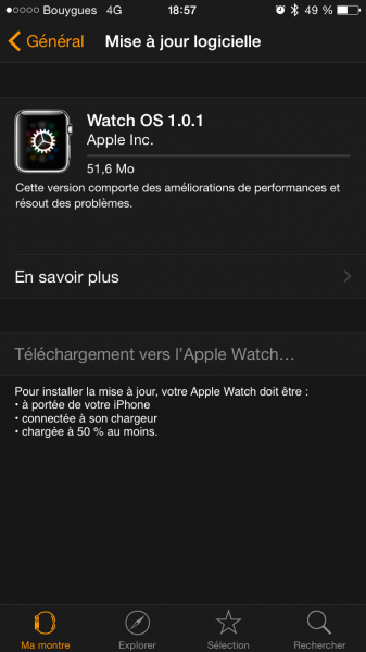 Watch OS update 9