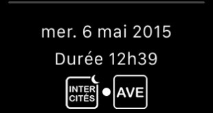 applewatch sncf app im2