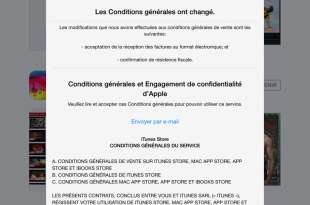 conditions générales apple itunes