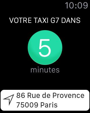 taxi G7 2