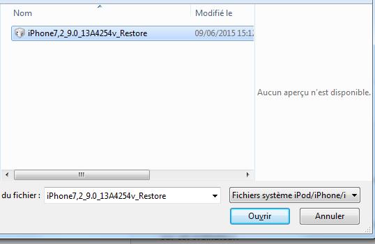 firmware ios 9