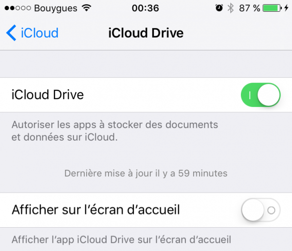 iCloud Drive 1