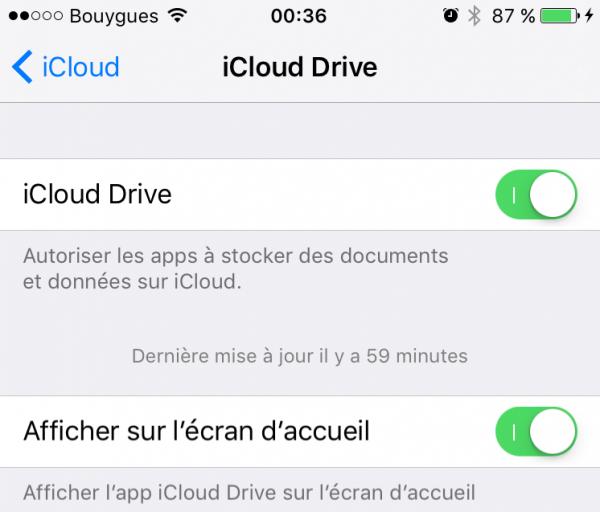 iCloud Drive 2