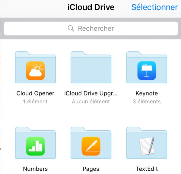 iCloud Drive 3