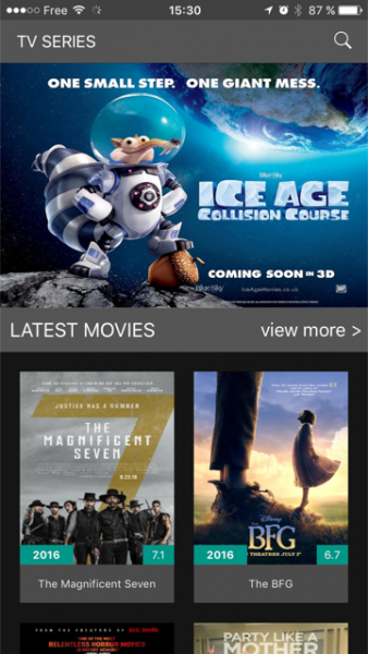 film streaming for iphone free